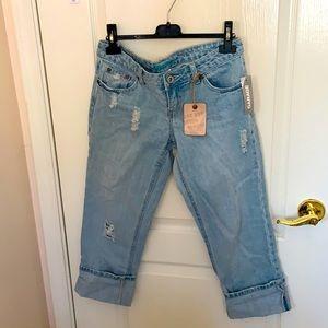 2/$30 Garage Boyfriend Cropped Jeans